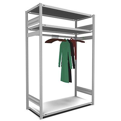 hofe hofe Garderoben-Regal Stecksystem - HxBxT 2000 x 1300 x 600 mm