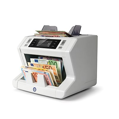 Safescan Automatischer Banknotenzähler - mit 6facher Falschgelderkennung, EUR / GBP Wertzählung, SAFESCAN 2685-S