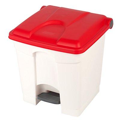 Kunststoff-Tretabfallsammler - 30 Liter, HxBxT 435 x 410 x 400 mm