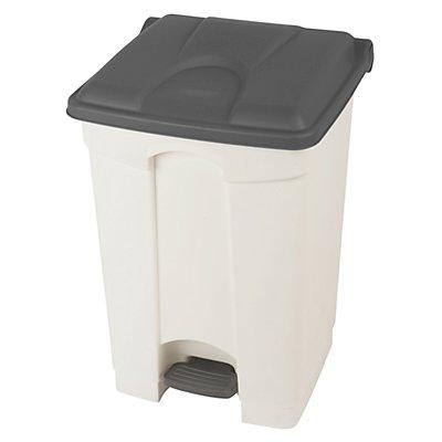 Kunststoff-Tretabfallsammler - 45 Liter, HxBxT 600 x 410 x 400 mm
