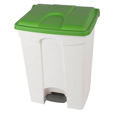 Kunststoff-Tretabfallsammler - 70 Liter, HxBxT 675 x 505 x 415 mm