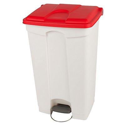 Kunststoff-Tretabfallsammler - 90 Liter, HxBxT 790 x 505 x 410 mm