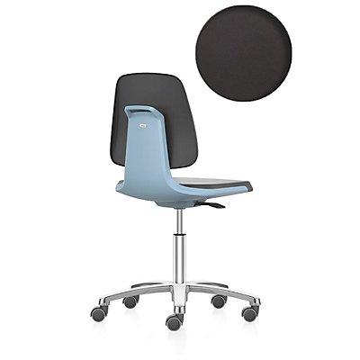 bimos Arbeitsdrehstuhl, Fünffuß mit Rollen