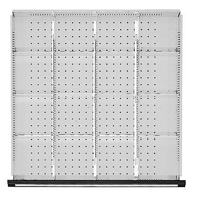 Trennbleche für Schubladenschränke, für Schrankbreite 760 mm für Schubladenhöhe 60 mm