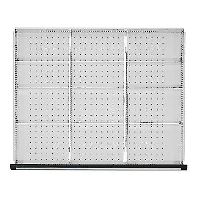 Trennblech 1/3-Teilung, für Schrankbreite 910 mm für Schubladenhöhe 60 mm
