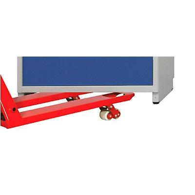 Staplersockel, für Schubladenschrank-BxT 760 x 675 mm Breite 760 mm