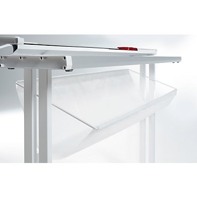 IDEAL Rollenschneider, Arbeitshöhe 865 mm - Schnittlänge 1350 mm - BxL 1350 x 295 mm