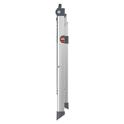 Hailo Alu-Klapptritt - Plattformhöhe 440 mm - 2 Stufen