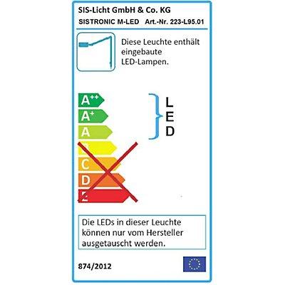 SIS LED-Kaltlicht-Maschinenleuchte - Kompaktleuchtstofflampe - Anschlussspannung 230 V