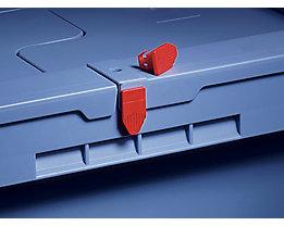 Plomben - VE 500 Stk - für Drehstapelbehälter