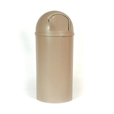 Feuerhemmender Rubbermaid Abfallbehälter aus PE - Inhalt 80 Liter