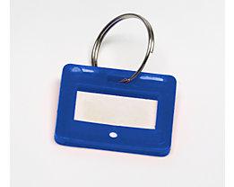 Inter Sicherheits Service Schlüsselanhänger - VE 10 Stück - blau