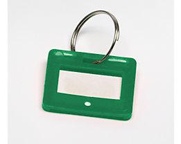 Schlüsselanhänger - VE 10 Stück - grün