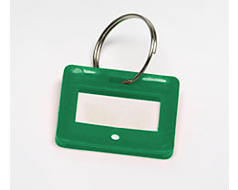 Schlüsselanhänger - VE 10 Stück - grün, ab 10 VE