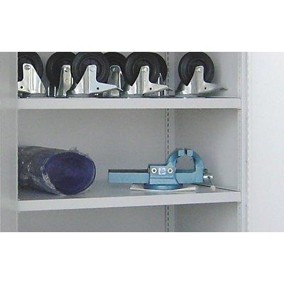 Einlegeboden, pulverbeschichtet - für Schwerlastschrank ohne Trennwand, extrabreit - grau
