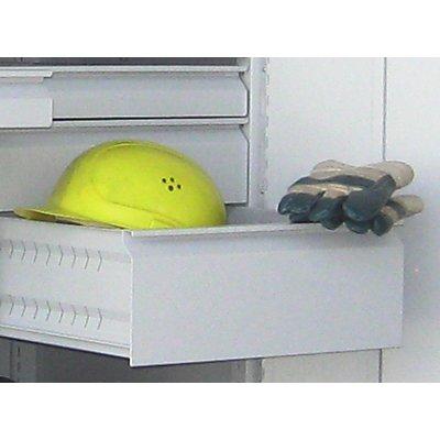 Schublade, pulverbeschichtet - für Schwerlastschrank mit Trennwand