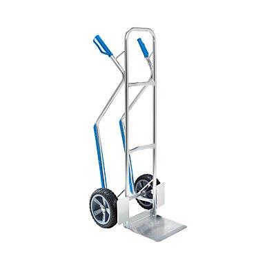 Aluminium-Sackkarre EASY - mit Gleitkufen und fester Schaufel - Tragfähigkeit 150 kg
