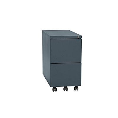 QUIPO Rollcontainer, Stahl - 2 Hängeregistraturen