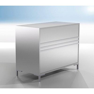 BST LINK Thekenmodul - geschlossen, Breite 1200 mm - HxT 900 x 600 mm