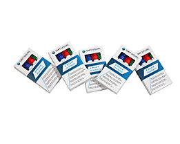 Filzstift - farbig sortiert, blau, rot, schwarz, grün - VE 20 Stk