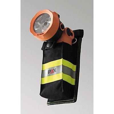 Porte-lampe - pour lampe-torche de sécurité - avec bandes réfléchissantes