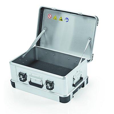 ZARGES Aluminium-Mobilbox, Inhalt 28 l, Außenmaß LxBxH 550 x 400 x 233 mm