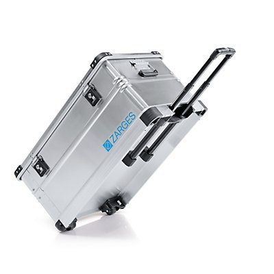 ZARGES Aluminium-Mobilbox, Inhalt 105 l, Außenmaß LxBxH 800 x 500 x 385 mm