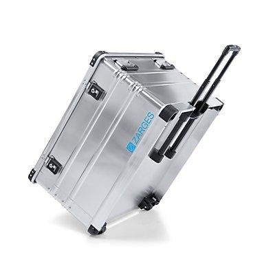 ZARGES Aluminium-Mobilbox, Inhalt 195 l, Außenmaß LxBxH 800 x 685 x 485 mm