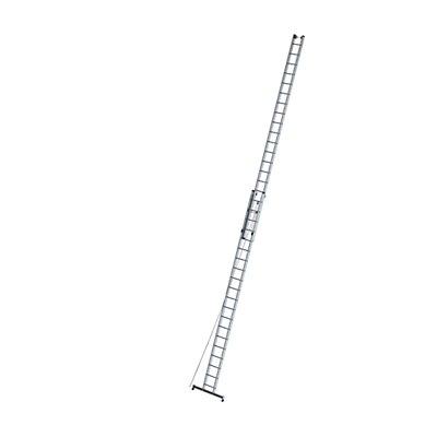 Anlegeleiter höhenverstellbar - Seilzugleiter, 2-teilig mit Traverse