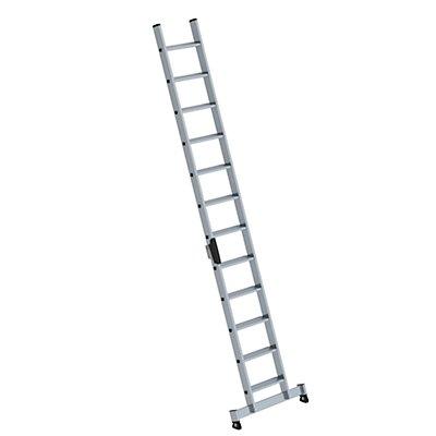 Anlegeleiter mit Stufen - Profiausführung mit nivello®-Traverse