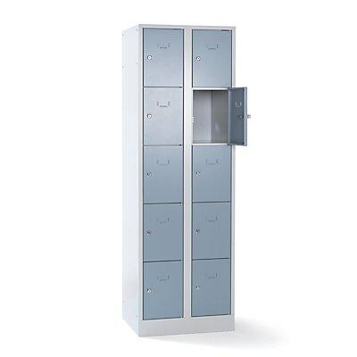 Wolf Schließfach-Garderoben-System - 10 Fächer, Fachbreite 300 mm