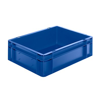 Euro-Format-Stapelbehälter, Wände und Boden geschlossen - LxBxH 400 x 300 x 120 mm