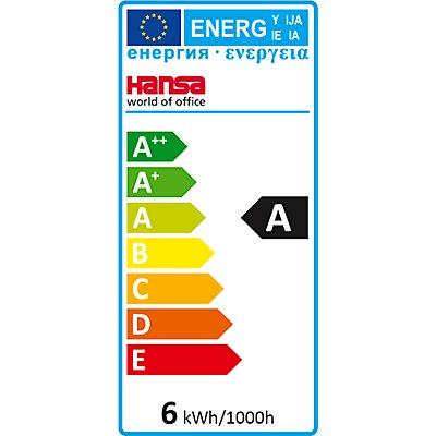 Hansa-Technik LED-Tischleuchte 4 Stars - mit Klemmfuß