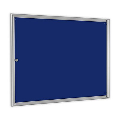 Einfachschaukasten BASIC - für 8 x DIN A4 - enzianblau