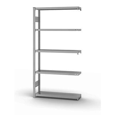 hofe System-Steckregal, Bauart mittelschwer, kunststoffbeschichtet - Regalhöhe 2000 mm