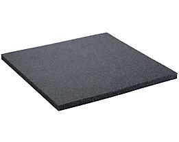 Lista Schaumstoffunterlage für Schublade - schwarz, BxT 906 x 600 mm