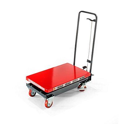 Hub-Plattformwagen, Hubbereich 265 – 755 mm Tragfähigkeit 200 kg