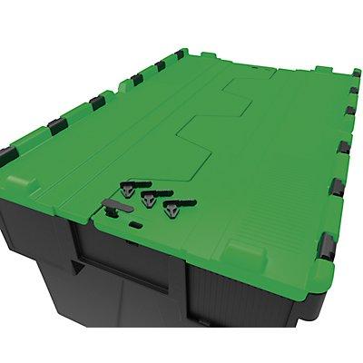 Sicherungsplomben - VE 500 Stück - schwarz