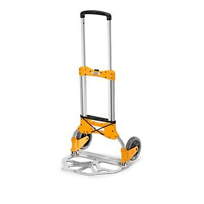 QUIPO Klappbare Transportkarre - Tragfähigkeit 125 kg