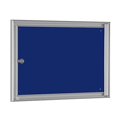 Einfachschaukasten BASIC - für 2 x DIN A4 - enzianblau
