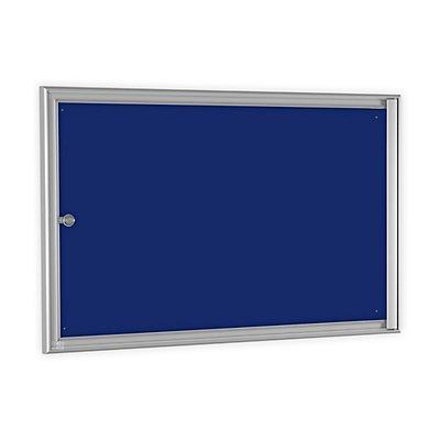 Einfachschaukasten BASIC - für 3 x DIN A4 - enzianblau