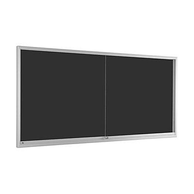 Schiebetürenschaukasten - für 24 x DIN A4