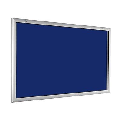 Flachschaukasten - für 21 x DIN A4 - enzianblau