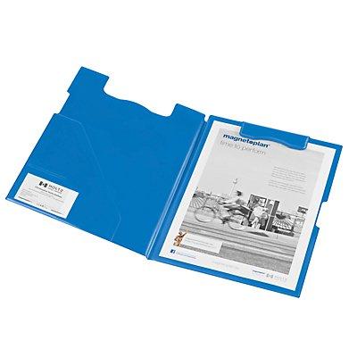 magnetoplan Klemmbrett-Mappe - DIN A4 Format, VE 3 Stück