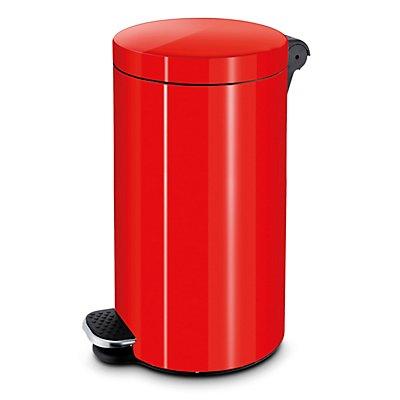 Tretabfallbehälter, Volumen 20 l, HxØ 450 x 300 mm