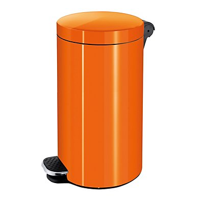 Tretabfallbehälter, Volumen 30 l, HxØ 650 x 300 mm