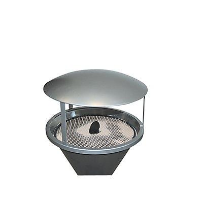 Regenschutzdach, für Standascher DIABOLO LIGHT neusilber