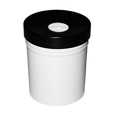 Abfallbehälter, selbstlöschend, Volumen 30 l, HxØ 415 x 344 mm