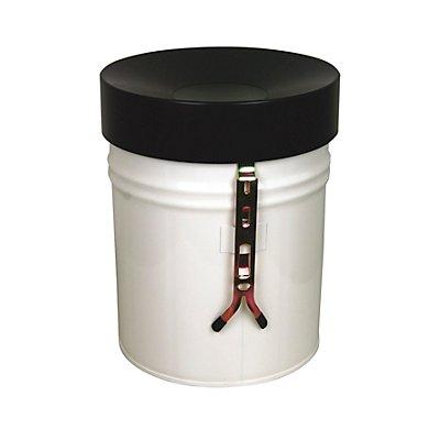 Wandabfallbehälter, Volumen 16 l, HxØ 340 x 245 mm