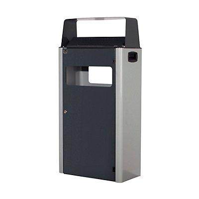 Abfall-Ascher-Kombination, Höhe 1000 mm